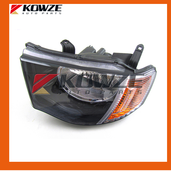 Head Lamp Head Light Red Subface For Mitsubishi Pickup Triton L200 KB4T KB8T KB9T ветровики prestige mitsubishi l200 triton strada 99 06