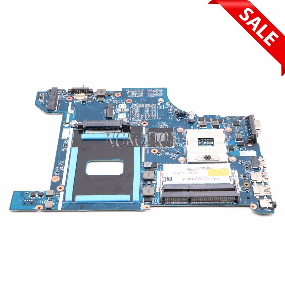 Main board for Lenovo Thinkpad Edge E531 Laptop Motherboard FRU 04Y1299 VILE2 NM-A044 Mother Boards Full Tested 04Y1298 04Y1300 nokotion motherboard for lenovo thinkpad edge e540 fru 04x4781 mother boards aile2 nm a161 hm87 gma hd5000 ddr3 laptop mainboard