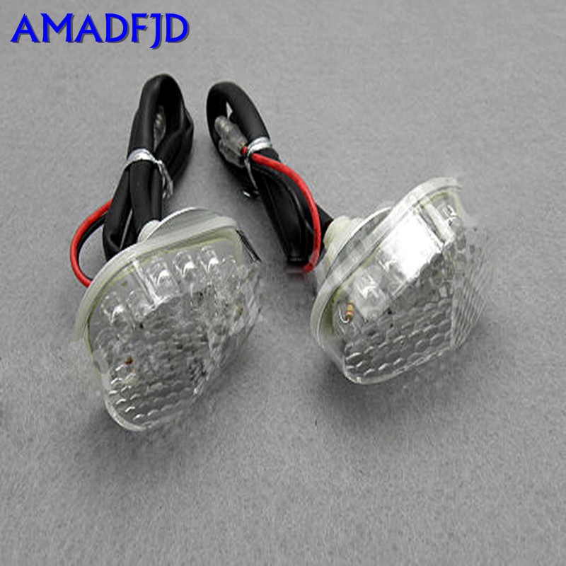 LED Flush Mount Turn Signals Brightness Motorcycle Light Cruiser Indicator Flashers Blinker Fit ZX 6R 7R 9R 10R 12R 12v 3 pins adjustable frequency led flasher relay motorcycle turn signal indicator motorbike fix blinker indicator p34