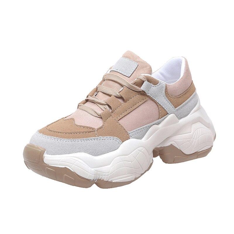 Rimocy 2020 primavera sapatos casuais mulher rendas