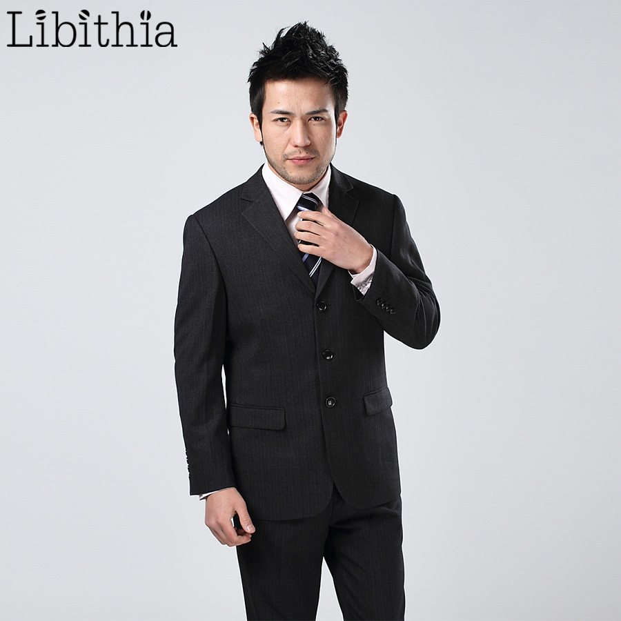 (Jacket + pantalon + cravată) Costume de baie pentru bărbați - Imbracaminte barbati