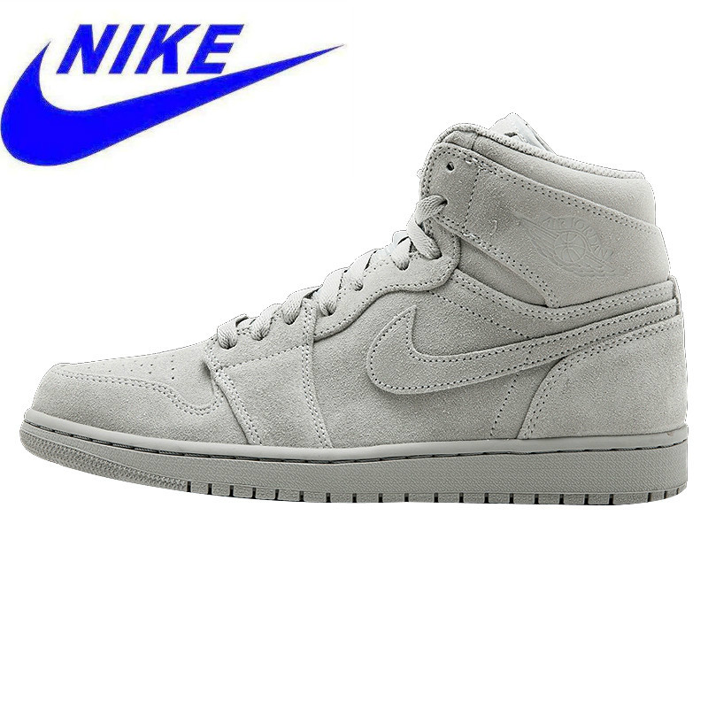 332550 High Cool Shoes orriginal Men's 49Off Us132 09 Aj1 In Gray Basketball Suede Sneakers 031 Jordan Air Retro Nike 1 0wnOmPv8yN