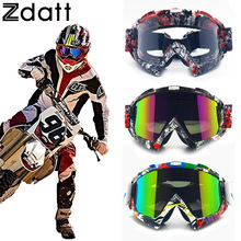 Zdatt profesional adulto gafas de motocross dirt bike atv motocicleta gafas moto gafas de esquí gafas de protección uv de esquí zorro