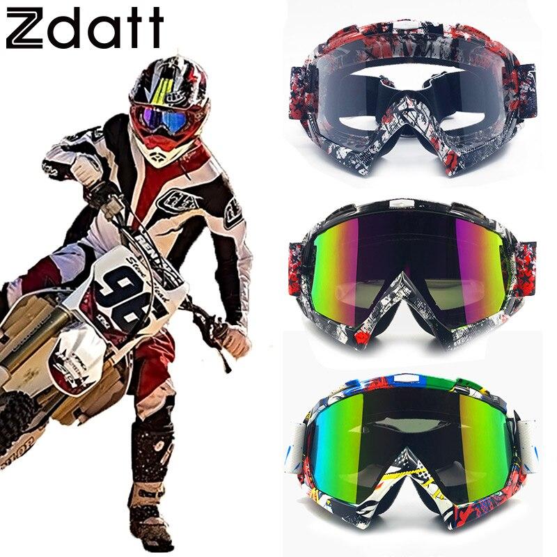 Prix pour Zdatt Professionnel Adulte Motocross Lunettes Fox Racing Mx Lunettes Moto Lunettes Sport Ski Lunettes
