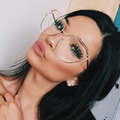 Vintage cat eye sunglasses mujeres diseñador de la marca gafas marcos claros marcos de los vidrios de lujo señoras de la manera gafas de sol mujer