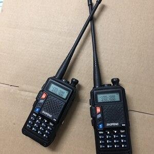 Image 1 - 2019 nouveau talkie walkie R9 double bande 136 174MHZ/400 520MHZ 8W longue distance 10 KM radio bidirectionnelle pour la chasse à la neige