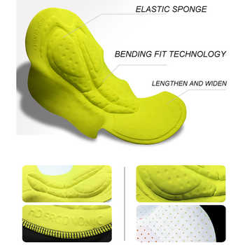 PHMAX 8CM Italy Silicon Grippers at Leg Classic Bib Cycling Shorts Race Bicycle Bottom Ropa Ciclismo Bike Pants With Pro 5D Pad