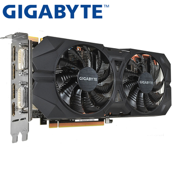 GIGABYTE Graphics Card Original GTX 960 2GB 128Bit GDDR5 Video Cards for nVIDIA VGA Cards Geforce GTX960 Hdmi Dvi game Used