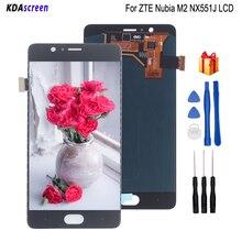 Для zte Nubia M2 NX551J ЖК-дисплей сенсорный экран Замена для zte Nubia M2 экран ЖК-дисплей Запчасти для телефонов