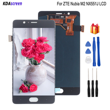 Original For ZTE Nubia M2 NX551J LCD Display Touch Screen Replacement For  ZTE Nubia M2 Screen LCD Display Phone Parts