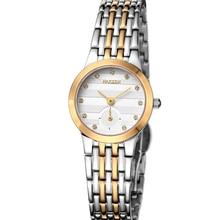 Nakzen Lovers' sapphire  Couple Wedding Luxury Fashion Business Full Steel Watch Quartz Waterproof Women rhinestone watches