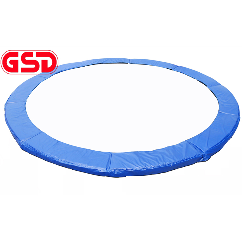 GSD Trampoline Pad Round Model Master Spring Pad Cover  For 6/8/10/12/13/14/15/16 Feet Trampoline 14ft round safety net spring pad ladder optional basketball set trampoline for kids