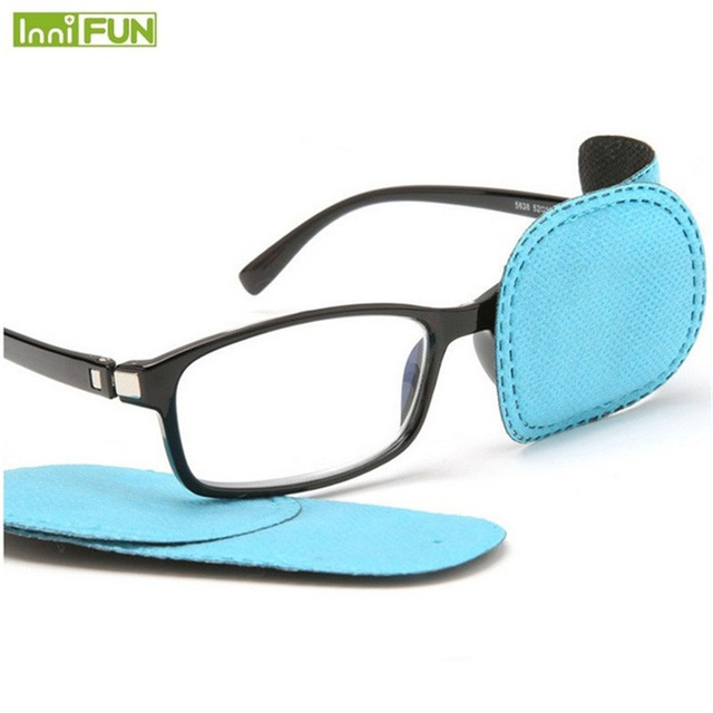 6Pcs/box Child Occlusion Medical Lazy Eye Patch Eyeshade for Amblyopia Kids Children Boy Gril Wholesale 3 Types(China)