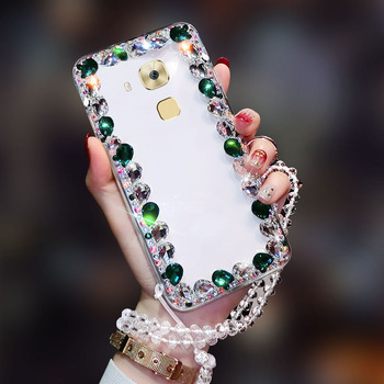 Luxury Diamond-studded Fashion Shatter-resistant Mobile Phone Case For Huawei Novaplus image