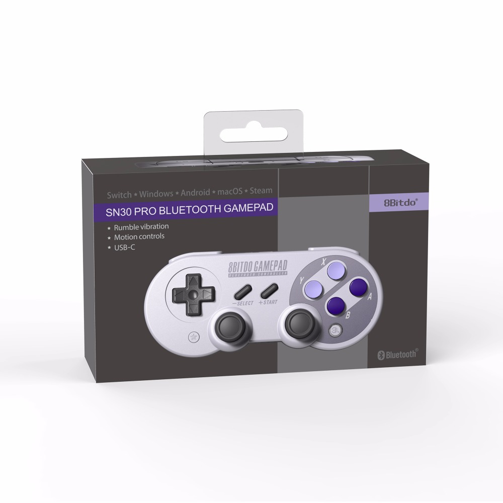 Image 5 - Official 8BitDo SN30 Pro Wireless Bluetooth Gamepad Controller with Joystick for Windows Android macOS Nintendo Switch Steam-in Gamepads from Consumer Electronics