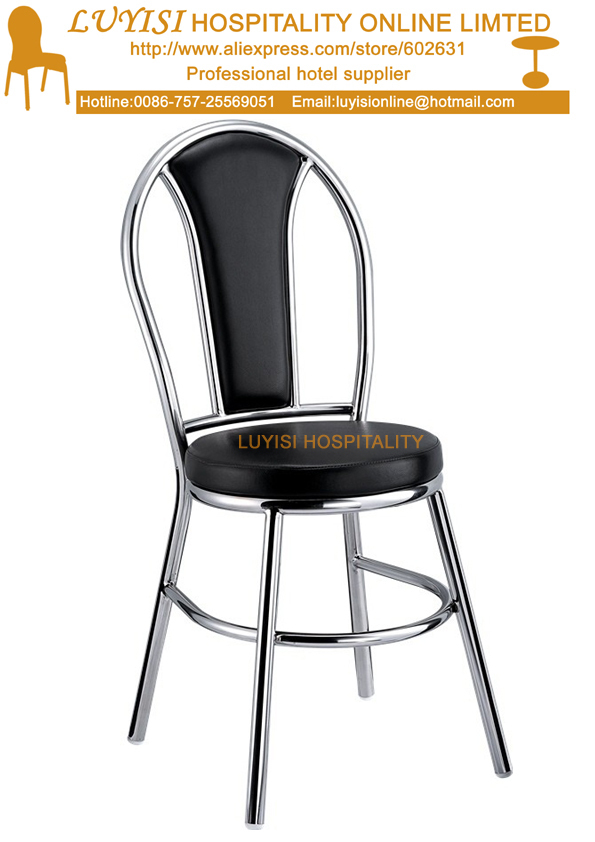 Stainless steel polished dining chair upholstered PU seat quick  shipment China Compare Prices on Upholstered Restaurant Chairs  Online Shopping  . Low Price Dining Chairs. Home Design Ideas
