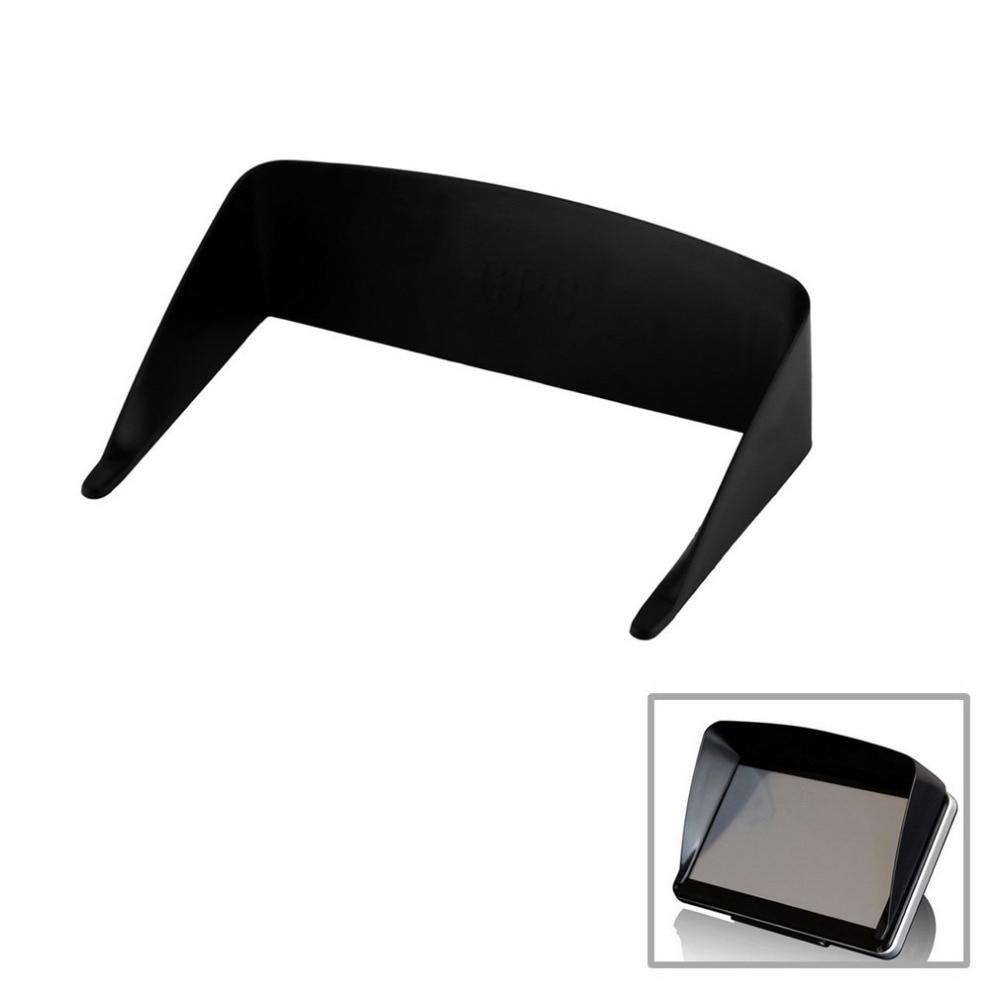 New 5 Inch Car GPS Professional Navigator Sun Shade Anti Reflective Black Visor Shield Car Sun Shade Hot selling
