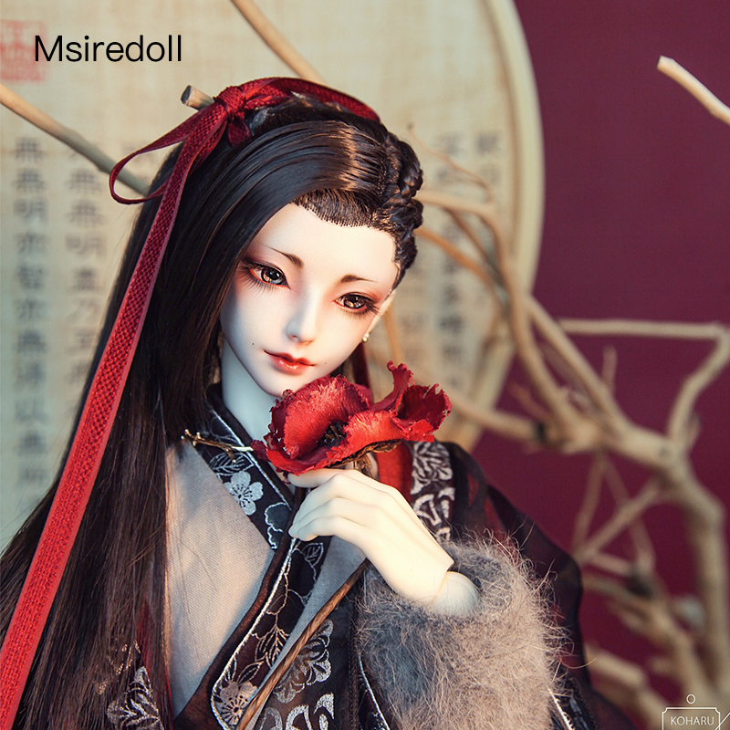 Msiredoll  Msiredoll  Ball-jointed Doll Accessories BJD 1/3 wig temperature resistant fiber wig Made in ChinaMsiredoll  Msiredoll  Ball-jointed Doll Accessories BJD 1/3 wig temperature resistant fiber wig Made in China