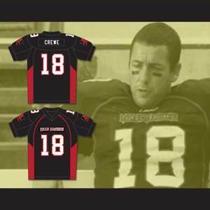 Adam Sandler Black American Football Shirts M-3XL Convicts Movie Football  Jersey 50154c50d