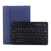 case samsung galaxy Slim Wireless Bluetooth Keyboard Foldable Stand Case   For Samsung Galaxy Tab A 8.0 2019 P205/P200 2019 BT Keyboard Case Cover (2)