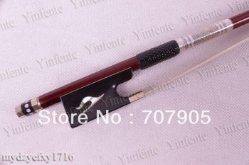 1 pcs New 4/4 Violin Bow Brazil Wood Ebony Frog High quality