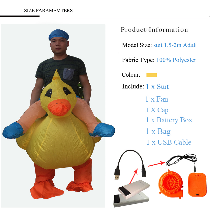 inflatable duck costume (3)
