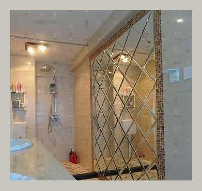 Decorative Glass Spell Mirror Bevelled Glass Home Decor