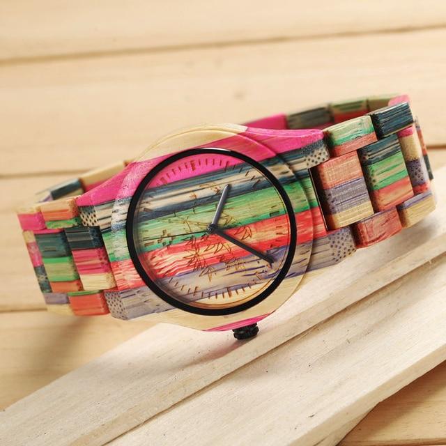 Zegarek damski AMUDA kolor tęczy