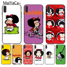 MaiYaCa Mafalda design On Sale Luxury Cool Phone Accessories Case For iPhone 8 7 6 6S Plus 5 5S SE XR Coque Shell(China)