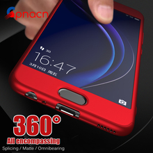 360 Degree Full Coverage Case For Huawei P10 Honor 9 Cover Phone Case For Huawei P10 Plus P9 P9 Lite Cases With Glass Film