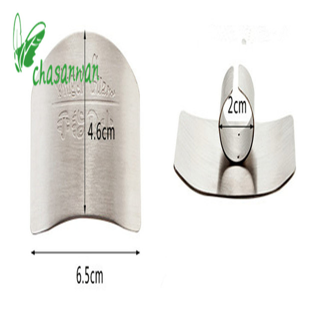 1Pc Finger Guardian Stainless Steel Kitchen Accessories When Cutting Vegetables In The Hands To Prevent The Cut