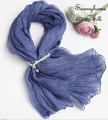 Scarves Women High Fashion 2016 100% Pure Silk Cowboy Blue Long Silk Scarf and wrap Summer Beach Vocation Suncreen Pashminas
