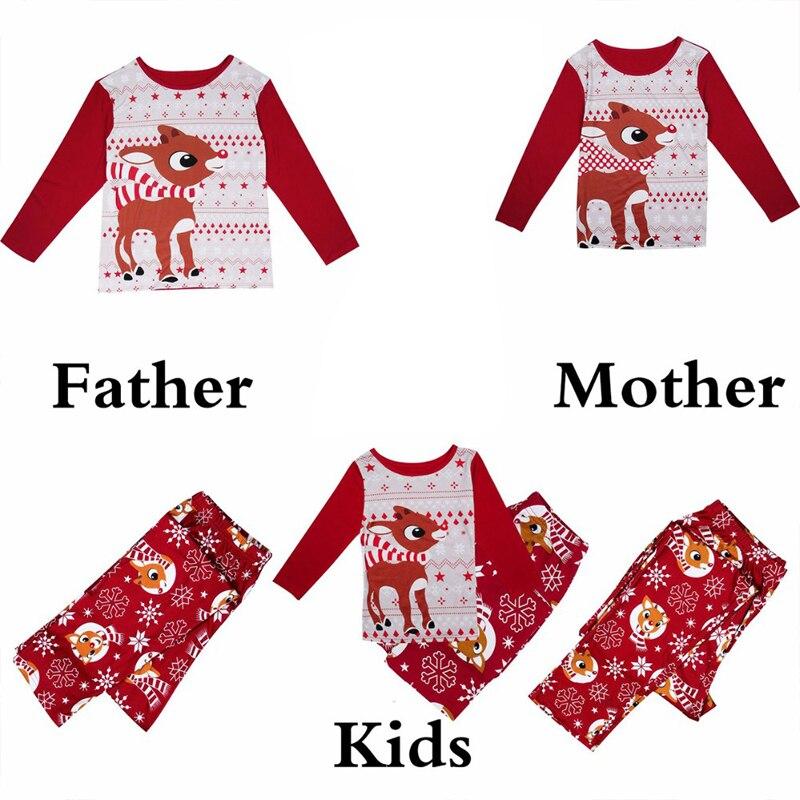 Puseky-Family-Christmas-Pajamas-Set-Elk-Print-Adult-Kids-Sleepwear-Nightwear-Pjs-Mother-Daughter-Outfits-Family (1)