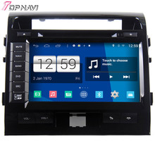 Top Newly Free Shipping S160 Quad Core Android 4.4 Car DVD Stereo For Toyota LC200 With Wifi Bluetooth Mirror Link 16GB Flash