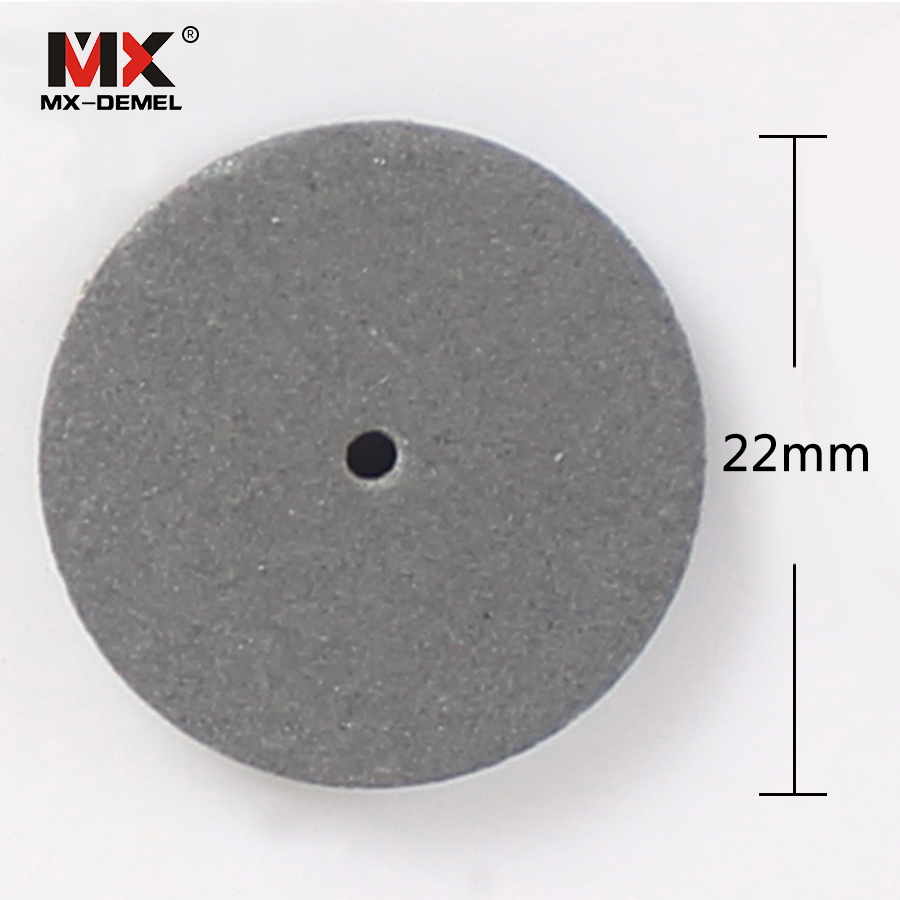 Image 4 - MX DEMEL 3pcs 22*3mm Rubber Polishing Wheels for Dental Jewelry Dremel Rotary Tools Polishing Disc with a Mandrel Abrasive Tools-in Abrasive Tools from Tools