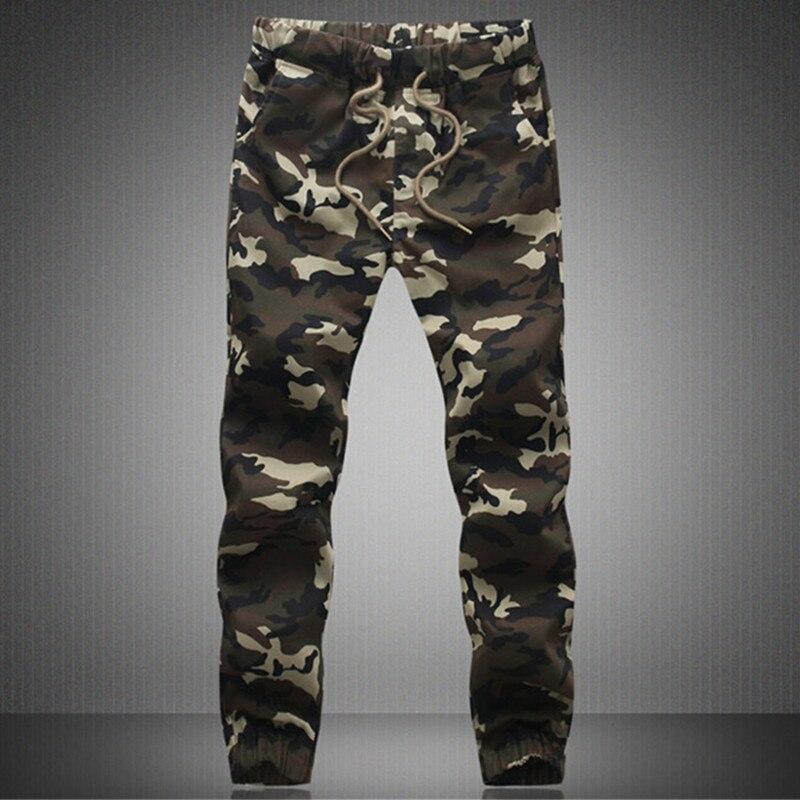 Hombres Joggers 2017 otoño nuevos hombres pantalones de camuflaje Harem Pantalones Casual personalidad tendencia de hip-hop movimiento Pantalones