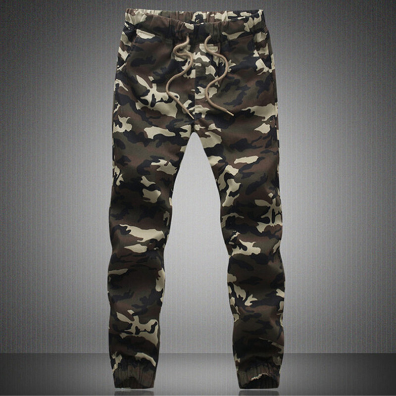 Mens Joggers 2017 Herbst Neue Männer Camouflage Hosen Pluderhosen Casual Persönlichkeit Trend der Hip-Hop Bewegung Hosen