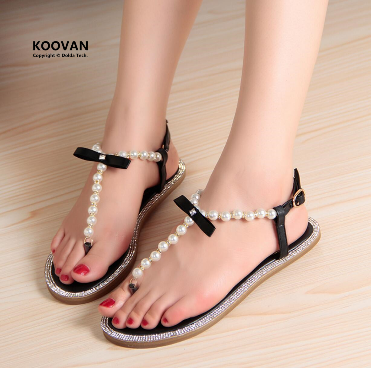 Koovan Women Sandals New 2017 Summer Fashion Shoes Bow ...