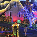 LED La Luz Solar Garden Blue String Lights Christmas Solar Lamps Party Decoration Outdoor Waterproof Street Lighting 12M 100 LED