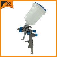 SAT1173 Gun Sprayer Paint Gravity Feeding Air Gun Compressor Nozzle Replacement Stainless Steel Sprayer Pressure Spray