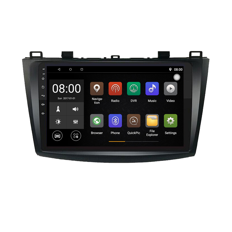 Android 9.1 Car DVD Player with GPS System For Mazda3 <font><b>Mazda</b></font> <font><b>3</b></font> 2010 2011 <font><b>2013</b></font> 2014 Can bus <font><b>Radio</b></font> USB SD image