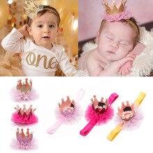 Kids Girl   Cute Sequin Glitter Crown Headband Hair Clips Barrettes Fashion