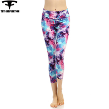 Sportswear Yoga Leggings Women's Printed Elasticity Quick Dry Fitness Training Sweatpants Running Tights Women's Yoga Pants