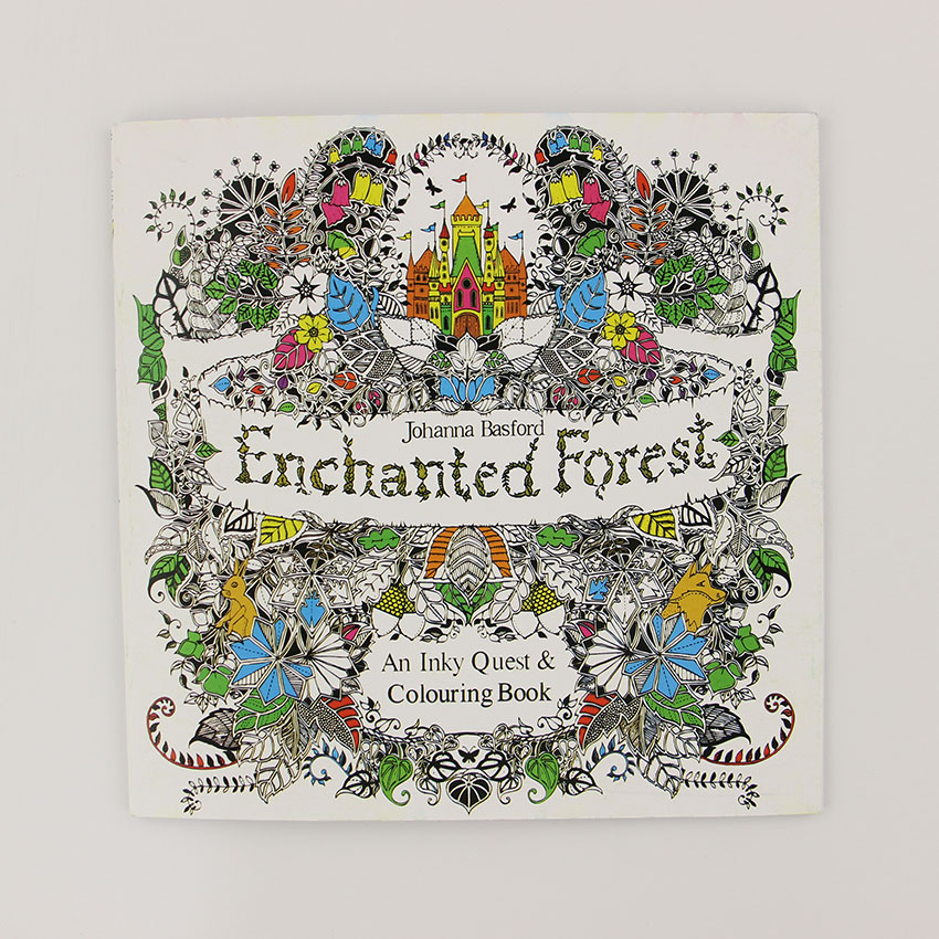Enchanted Forest Coloring Book Artist Edition Buy Wholesale Child English From China