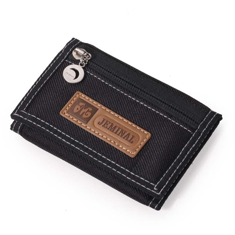 Fashion Men Wallets Canvas Fabric Fold Mans Waterproof Purses Male Wallet Coin Purse Burse Moneybags Cards Holder Wallet Clips wallet