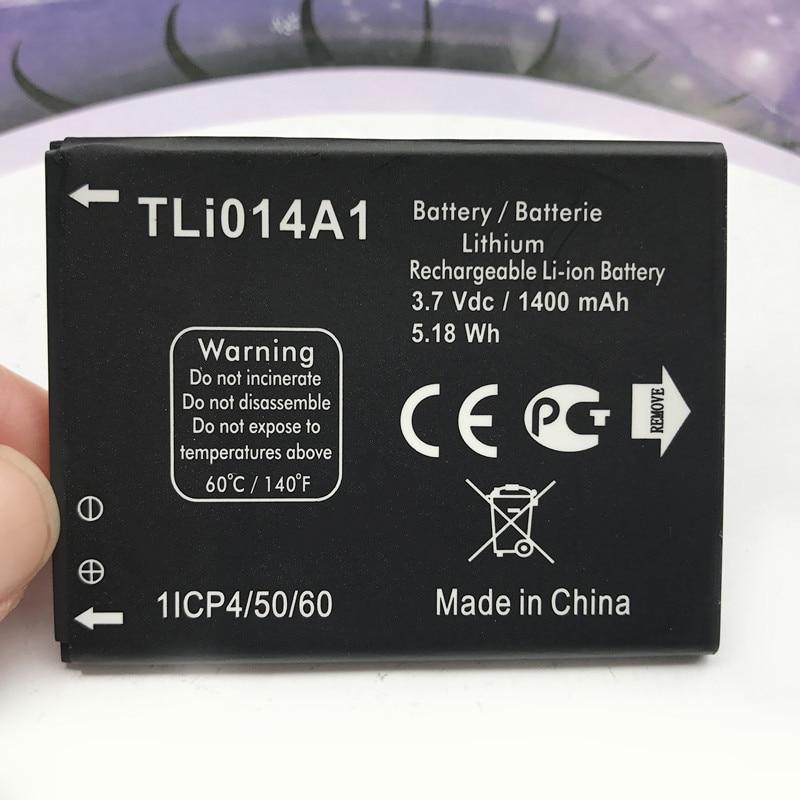 1400 mAh Remplacement TLi014A1 CAB31P0000C1 Batterie Pour Alcatel One Touch PIXI 2 4014D Smartphone Batterie Batterij