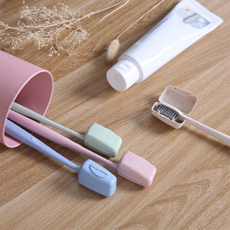 Hot Portable Toothbrush Cover Holder Tooth Brush Cap Case Health Germproof Travel Hiking Camping Toothbrushes Protector Wyt77