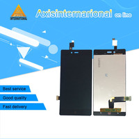 Axisinternational LCD Screen Display Touch Panel Digitizer For ZTE Nubia Z9 Mini NX511j White Black Free