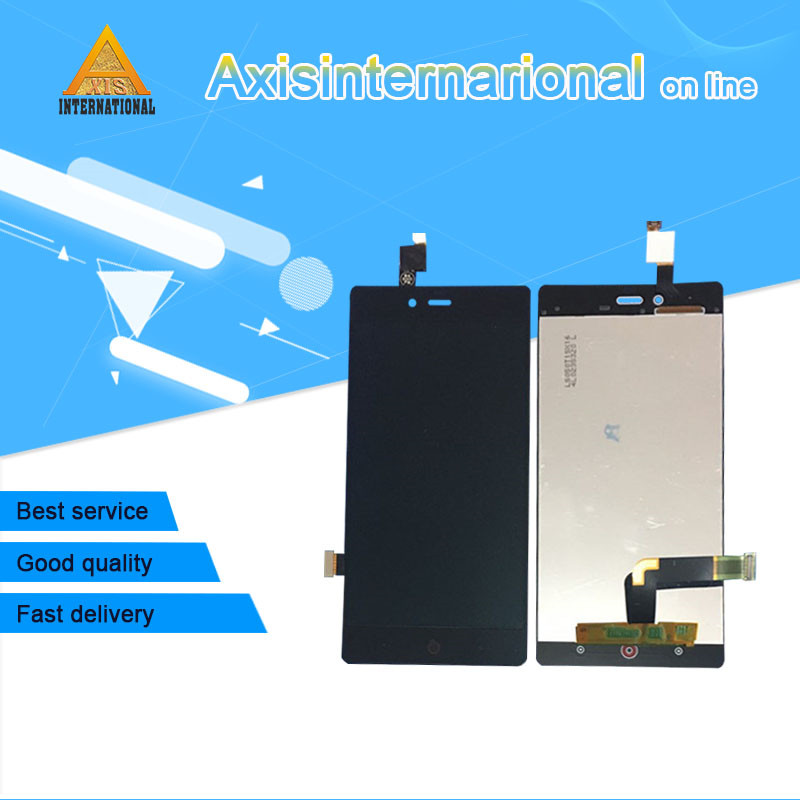 Para ZTE Nubia Z9 mini NX511j Axisinternational pantalla LCD + touch panel digitizer para ZTE Nubia Z9 mini NX511j pantalla
