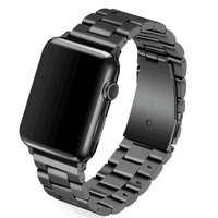 Band For Apple Watch 42mm 38mm Classic Buckle With Adapter Stainless Steel Link Bracelet Watchband Strap